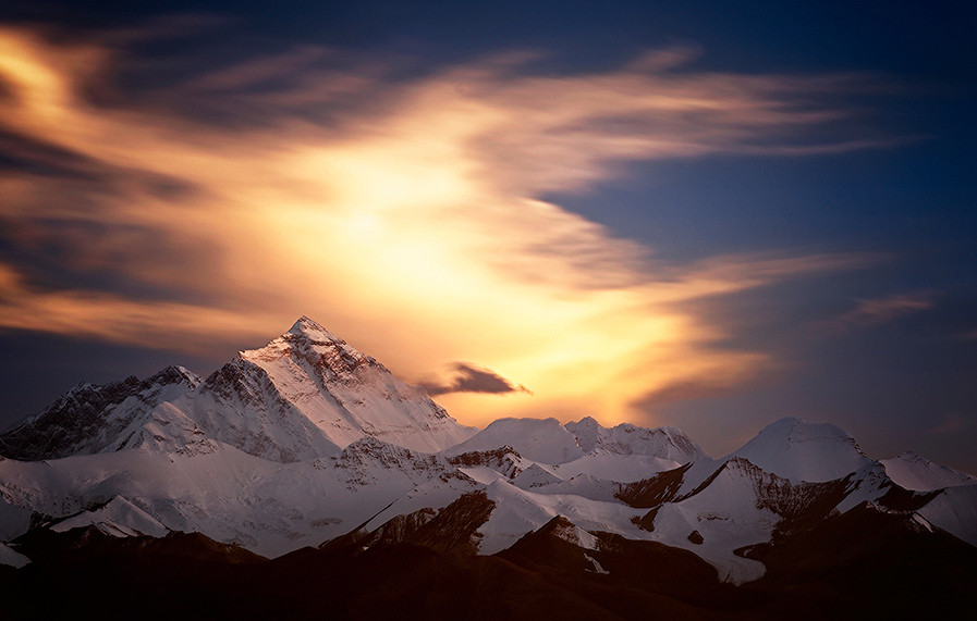 Everest-Sunset