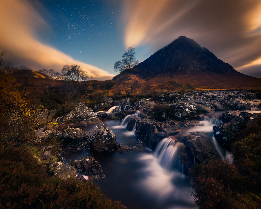 Glencoe Night Photography