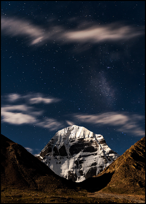 Kailash-under-Full-Moon