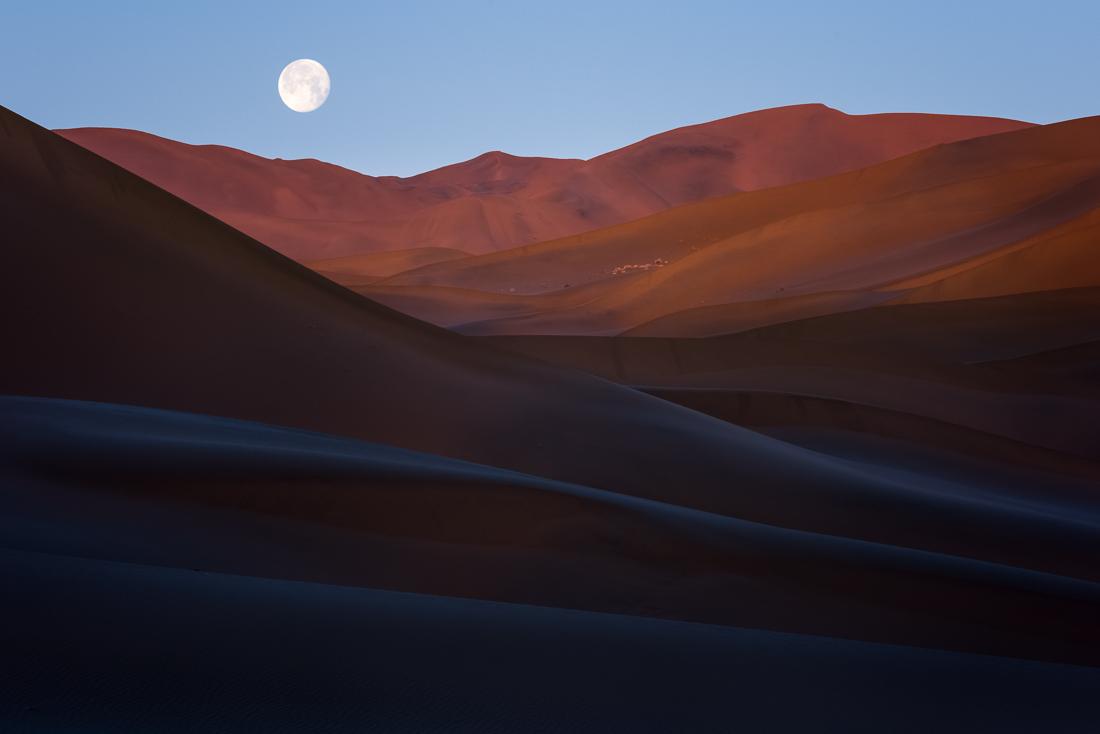 Desert Moonset