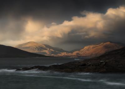 Scotland, Autumn, Hebrides, Light, Isle of Harris