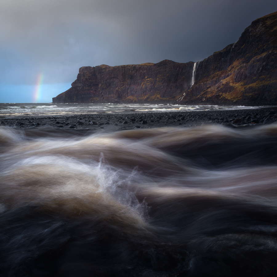 Talisker Beach, Isle of Skye, Scotland, Alister Benn, Landscape Photography,