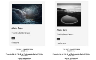 Scottish Award Winning Landscape Photographer Alister Benn